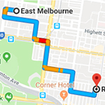 East Melbourne to Osteo